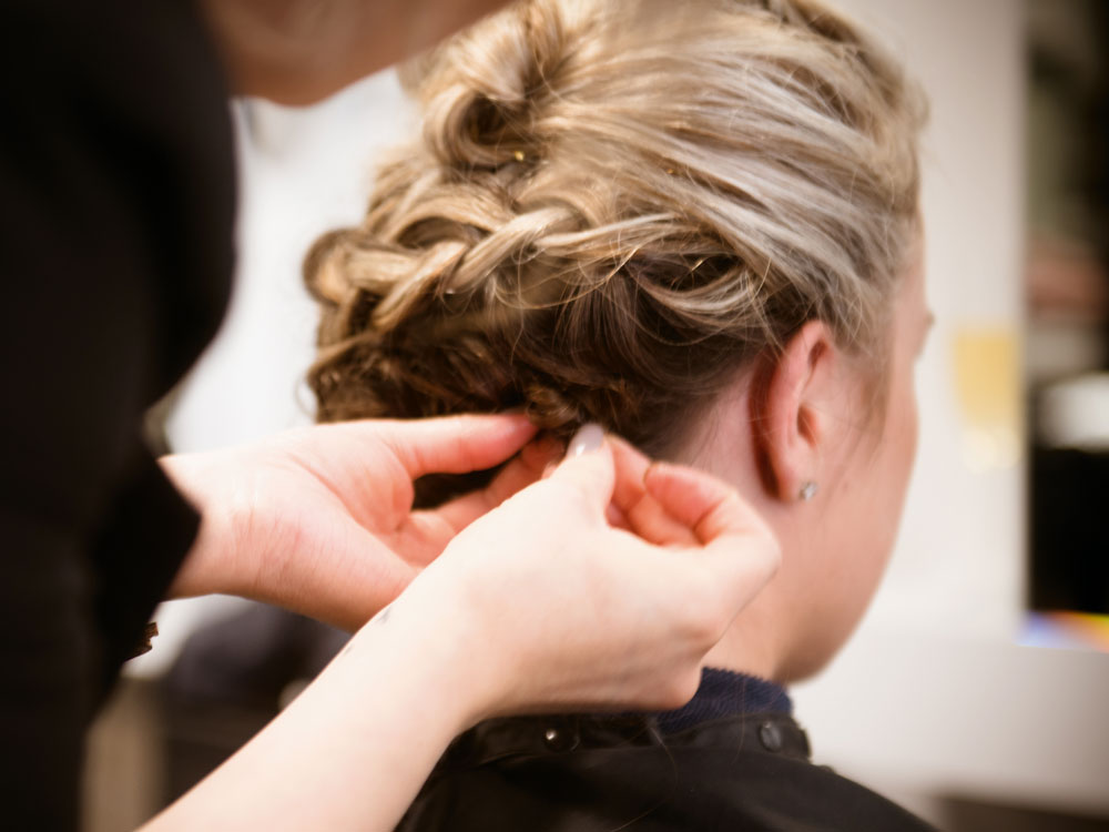 DNA Hairdressing bridal showcase image 14