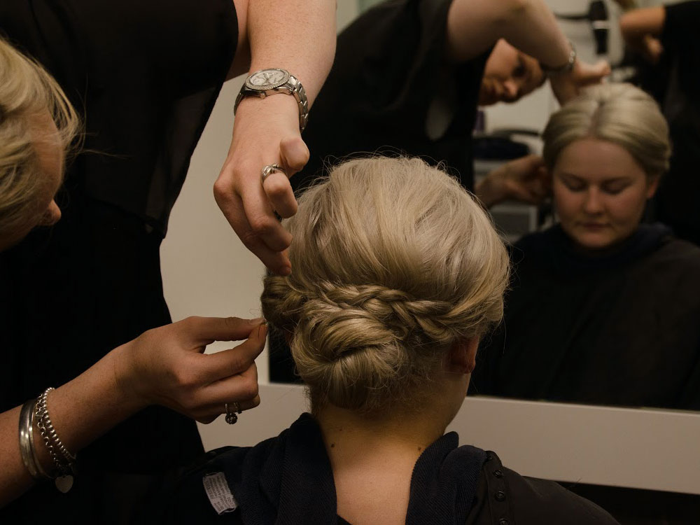 DNA Hairdressing bridal showcase image 18